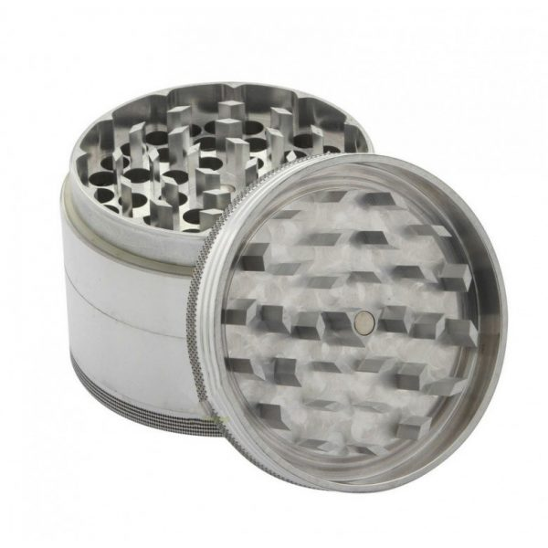 420 Store Space Case Sifter Grinder 4Pc 01